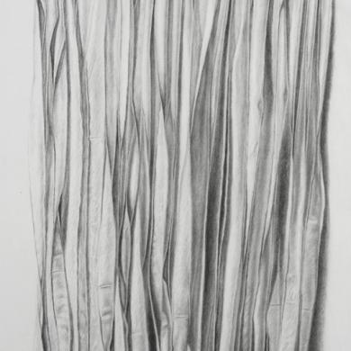 Unfolding #1, 2008, 24 in x 37 in