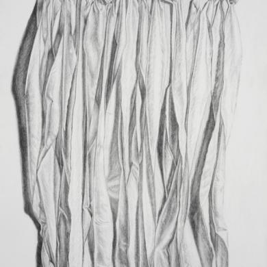 Unfolding #3, 2012, 22 in x 30 in