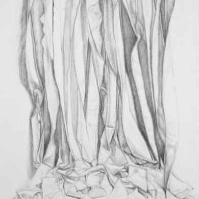 Unfolding #5, 2013, 22 in x 30 in