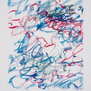 #14 - pastel, 11 1/2 in x 15 in