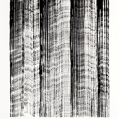Line studies series II, #1 ink on paper, 11.5 in x 15 in